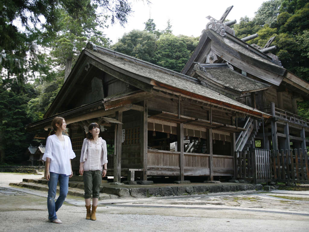 神魂神社(Kamosu shrine)